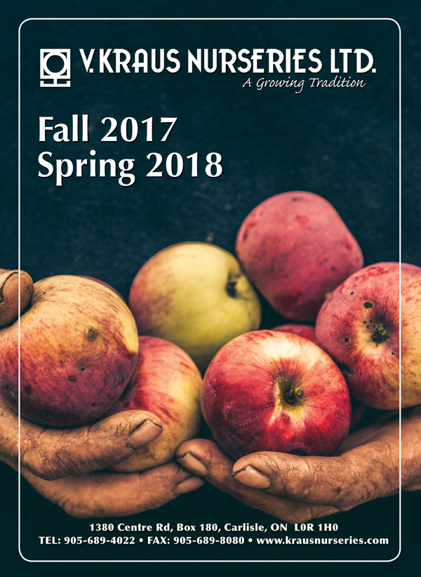 Download the Fall 2017 Spring 2018 Fruit Growers Catalogue